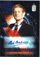 Doctor Who Timeless Autograph Mark Strickson as Turlough Purple Parallel #10/25