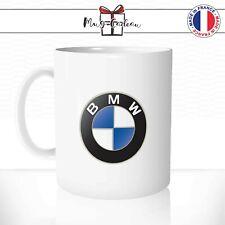 Mug BMW Voiture Logo Car Pilote Bolide Bleu - Tasse personnalisée - Idée Cadeau