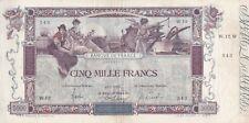 Billet EMBLÉMATIQUE ! 5000 F FLAMENG du 15-1-1918 FAY 43.1 Alph. W.12 BEL ETAT