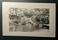 1921 Greenfield to Worcester Massachusetts Real Picture Postcard Cover