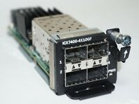 Brocade ICX7400-4X10GF ICX 7450 4-port 10-Gigabit SFP SFP+ Module