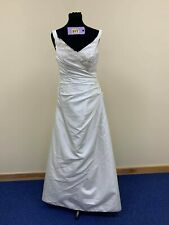 DG Collection wedding prom pageant dress size 14. Code 317  ivory