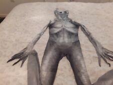 Age 10 Morphsuit Skeleton,worn Twice Used zips up the back