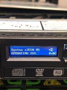IBM x3550 M5 Server E5-2620V3 32GB 8x SFF M5210 1GB 1x 550W PSU Adv LED Panel