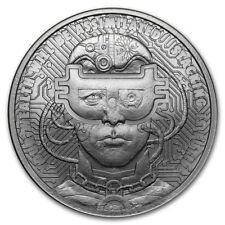 1 oz silver borgcoin. BU .999 pure mini mintage silver shield! 2018!