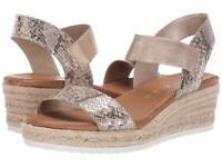 Anne Klein Women's Cait Espadrille Wedge Sandal Size 10M Natural