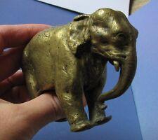 ANTIQUE Russian BRONZE Elephant figurine sculpture by WERFEL WOERFEL Petersbourg