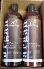 Art Naturals Organic Moroccan Argan Oil Shampoo and Conditioner Set 16oz each