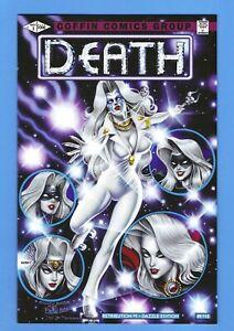 LADY DEATH RETRIBUTION #1 NM 2020 DAZZLE VARIANT / Dazzler #1 Homage!! LTD 115!