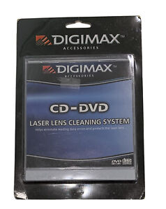 Digimax CD DVD Laser Lens Cleaning System Brand New