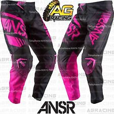 Answer 2017 Youth Kids Syncron Black Pink Race Pants 20 inch Motocross Enduro