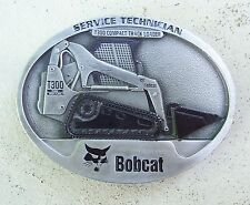 Bobcat T300 Compact Track Loader Service Technician Belt Buckle Made in USA LE