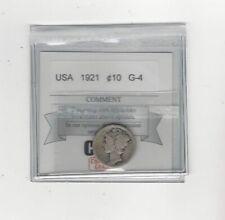 1921  USA, Mercury, Ten Cent