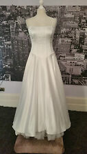 Pierce Fonda Gown (Off White) Ball, Prom, Wedding, Pageant, Black Tie etc