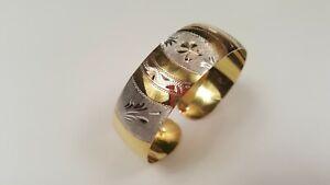 Sterling Cuff Bracelet in Gold Vermeil