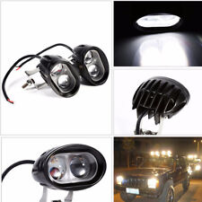 2pcs Off Road truck Security beam Light Spot Lamp searchlight Cool White 6000K