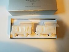 """Hallmark Baby Tooth&Curl Ceramic Train Set""""Little and Loved by All"""" Keepsake"""