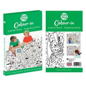 Eggnogg Colour In Childrens Christmas Tablecloth Kids Activity