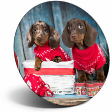 Awesome Fridge Magnet - Adorable Dachshund Puppies Dog Cool Gift #16294