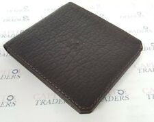 Parabellum Bifold Men's Italian Made Bison Leather Wallet in BROWN *BRAND NEW*