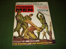 1960 RUGGED MEN MAGAZINE,TORTURE,  BONDAGE and JAPANESE SOLDIERS, GRAPHIC COVER