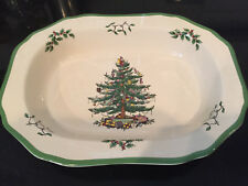 Spode Christmas Tree Open Vegetable Dish 1 11-1//2-Inch