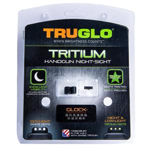 TRUGLO Tritium Green Gun Night Sight Compatible with Glock 20, 21, 25, 28, 29