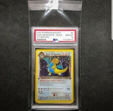 Dark Dragonite first edition 5/82 Holo PSA 10 Rare Pokemon Pr0xy Card