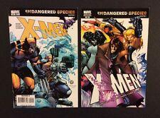 2 X-MEN #200 Comic Books Regular & VARIANT Wraparound Covers Endangered Species