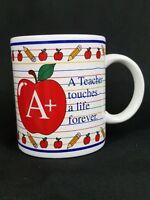 Teacher Gift A+ Coffee Mug Latte Tea Cup Mugz by Ganz Ceramic Collectible