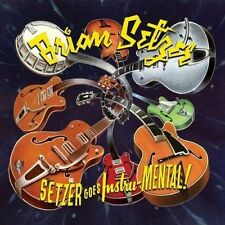BRIAN SETZER SETZER GOES INSTRU-MENTAL DIGIPAK CD NEW