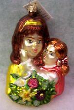 New Slavic Treasures Retired Glass Ornament - Mom'S Bouquet 2000