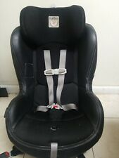 Peg Perego Primo Viaggio SIP 5-70 Convertible Car Seat. Black Leather, Nice.