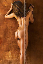 382 HIGH QUALITY POSTER HOT BABE REARVIEW BIG BUTT ROUND ASS SEXY LEGS SLIM BODY