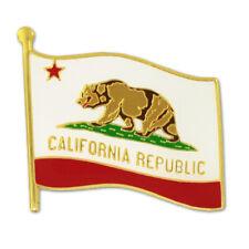 PinMart's California US State Flag CA Enamel Lapel Pin