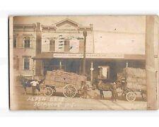 ST1640c: ALPEN BROS STORE SECAUCUS NJ (RPPC/postcard 1906 postmark)
