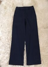 JCrew Petite Tailored Chino Pants 0P Navy G1001 CURRENT SOLD-OUT!