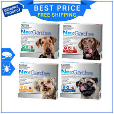 Nexgard Nexguard for Dogs flea and tick treatment 6 Chews All sizes