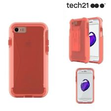 Genuine Tech21 iPhone 8 7 Case with Holster Evo Tactical XT Drop Protection Pink