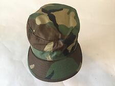 Woodland CAMO HAT COLD WEATHER 7 1/8 with EAR FLAPS US ARMY ATLAS HEADWEAR VGC