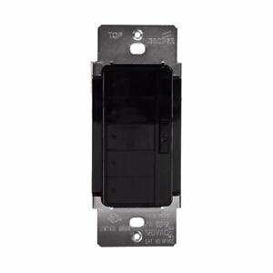 Cooper Wiring Devices RFWC5DBK Aspire RF Wall Mount 5-Scene LED Keypad, Black