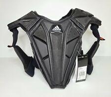 Adidas Chest Pad Lacrosse Protective Gear Black (CF9657) NWT Size Medium