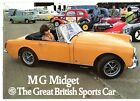 MG Midget 1971-74 UK Market Sales Brochure 1275cc MkIII Round Wheel Arch