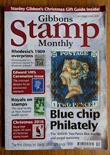 Gibbons Stamp Monthly Magazine December 2016 - Blue Chip Philately - Edward VIII
