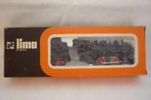 Lima - Scala H0 - 3006 Locomotiva a Vapore Con Tender - Conf. Orig. (10.EI-45)