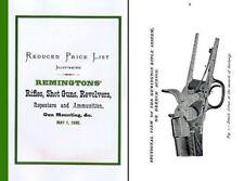 Remington 1880 Arms Rifles, Guns & Revolvers Catalog (Long)