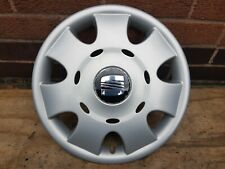 "Genuine Seat Ibiza 14"" Wheel Trim Hub Cap x1"