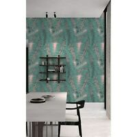 Removable wallpaper Exotic Leaf Tropical Floral Floral Leaves self adhesive art