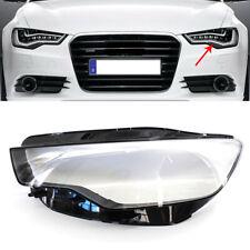 Headlight Headlamp Lens Cover Left Audi A6 C7 Pre-Lci 2012-2015 (Fits: Audi)