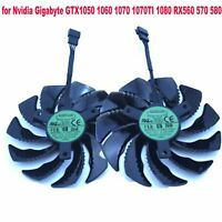 88mm Cooling Fan for Nvidia Gigabyte GTX1050 1060 1070 1070TI 1080 RX560 570 580